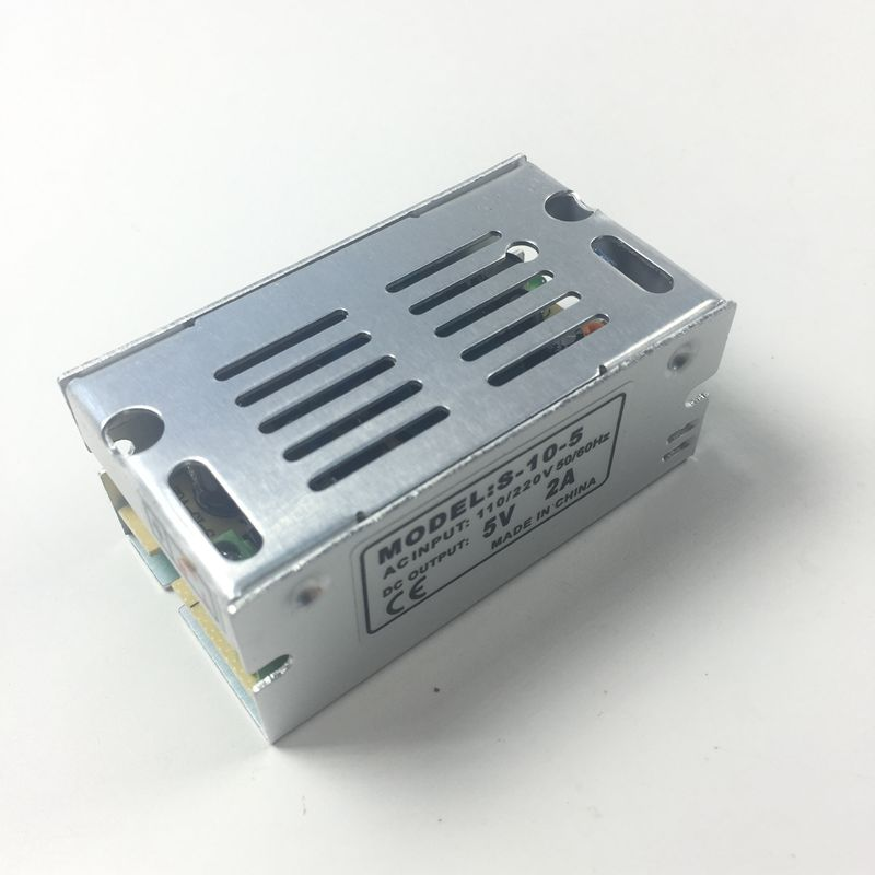 5V 2A 10W LED Power Supply Transformer Switching For Led Strip Light WS2811 WS2801 LED Pixel