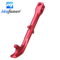 Aluminium Alloy 250mm Motorcycles Kickstand Kick Side Stand Motorcycle Scooter Street Standard