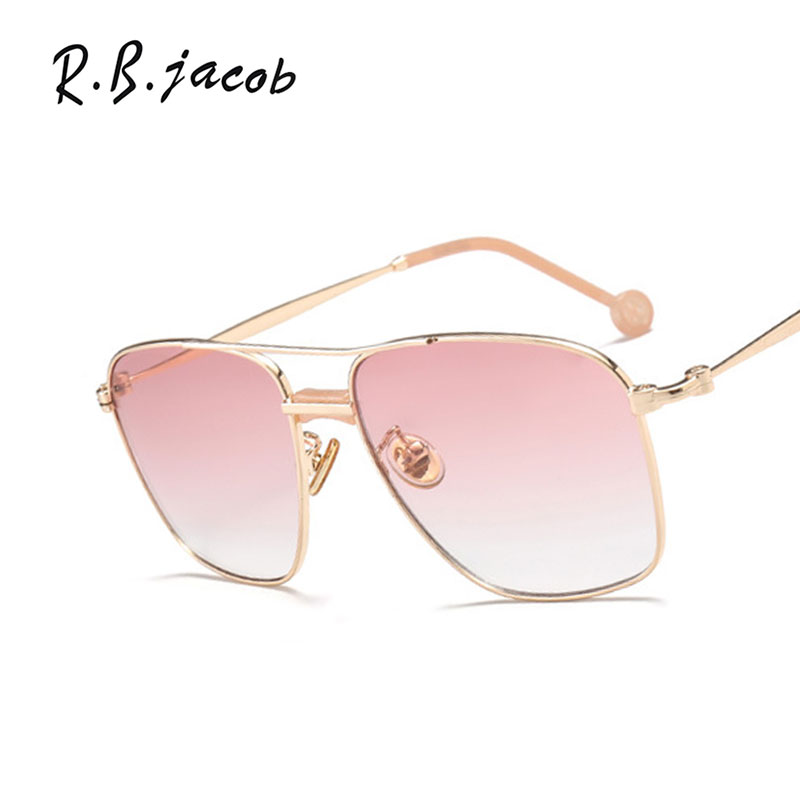 2017 New Square Women Sunglasses For Men Vintage Gold Wrap Hipster Lady Sun Glasses Goggle Top Quality Eyeglasses UV400 Female