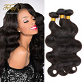 Peruvian Virgin Hair Body Wave Human Hair Weave Peruvian Body Wave 3PCS Natural Black Remy Virgin Peruvian Hair Weave Bundles