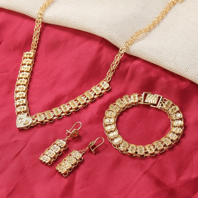 Aliexpress Buy Bangrui newest cheap golden jewellery girls