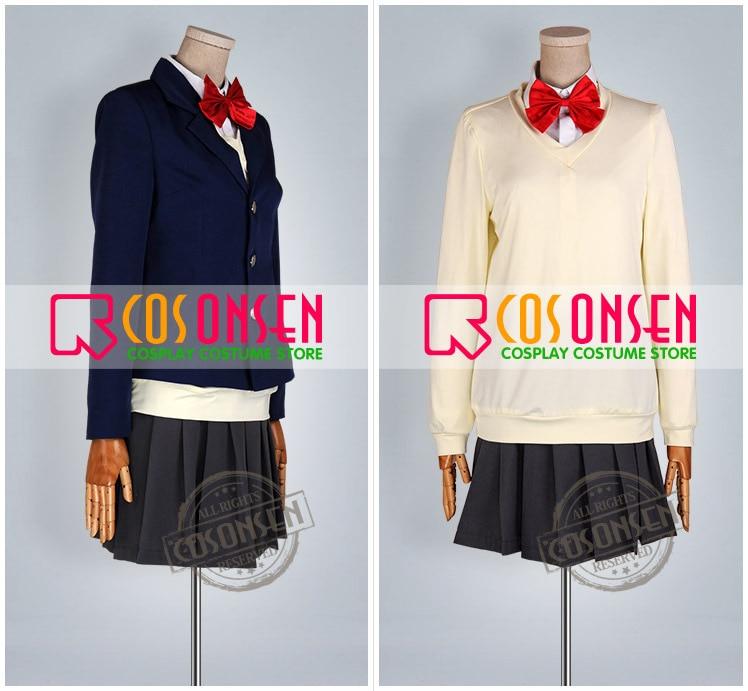 US $58 0 |COSPLAYONSEN Haikyuu!! Karasuno High School Kiyoko Shimizu  Cosplay Costume Female School Uniform All Size-in Anime Costumes from  Novelty &