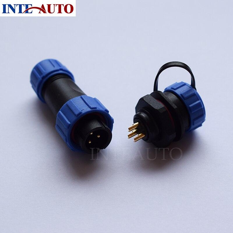 WEIPU connector,replacement SP1310 series waterproof 3 pin connector,IP68 plastic thread connector sp1310 waterproof