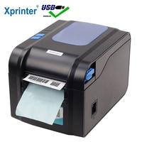 Xprinter Label Barcode Printer Thermal Receipt Printer Bar Code Printer 20mm 80mm XP 365B/XP 370B
