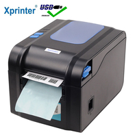 Xprinter Label Barcode Printer Thermal Receipt Printer Bar Code Printer 20mm 80mm XP 365B/XP 370B