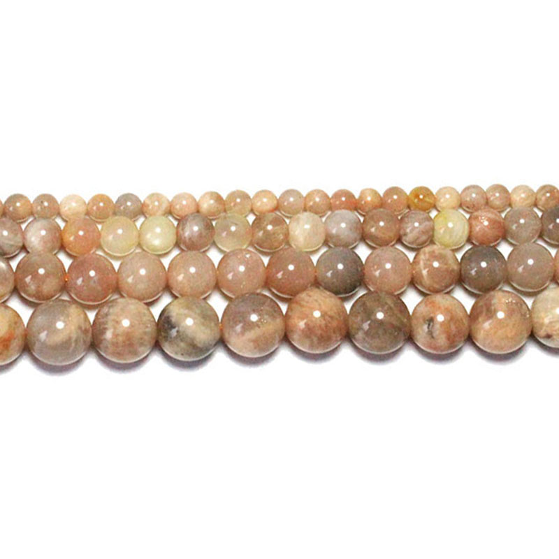 16''Strand Natural Opal Stone Round Spacer Loose Beads Jewelry Making DIY 4-10MM