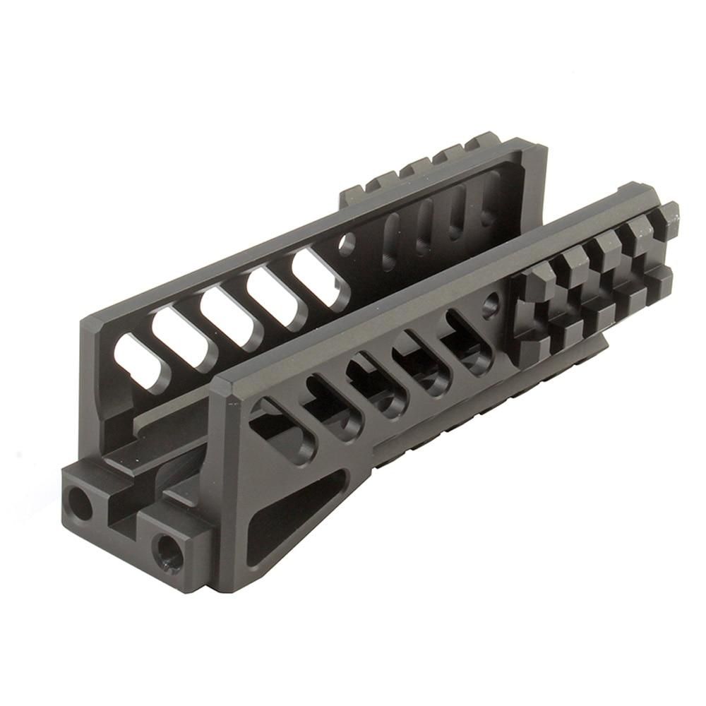 Tactical AKs 47U Picatinny Rail Handguard Multi-function Aluminum Cutting B11 Hunting Airsoft Paintball Army Accessories