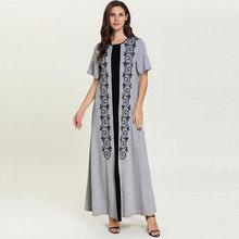 Short Sleeve Summer T Shirt Dress For Women Casual Ethnic Em