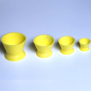 Image 4 - 4 pcs New Eco friendly Dental Lab Silicone Mixing Bowl Cup Silicone Mixing Bowl Cup Dental Medical Equipment Rubber Mixing Bowl