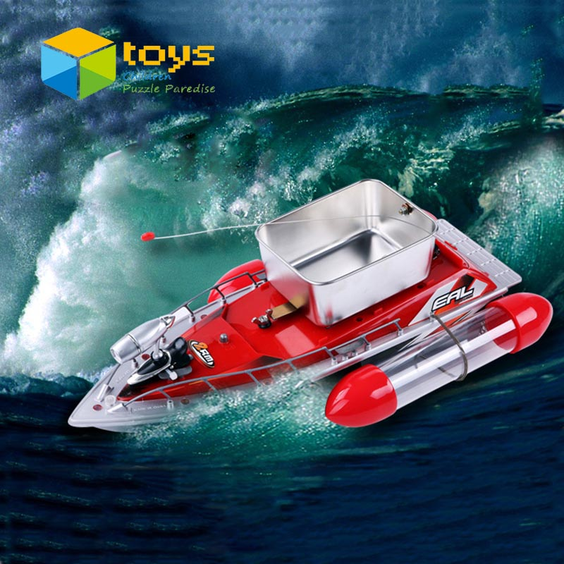 Remote control fishing boat rc fishing ship for fishing for Rc boat fishing