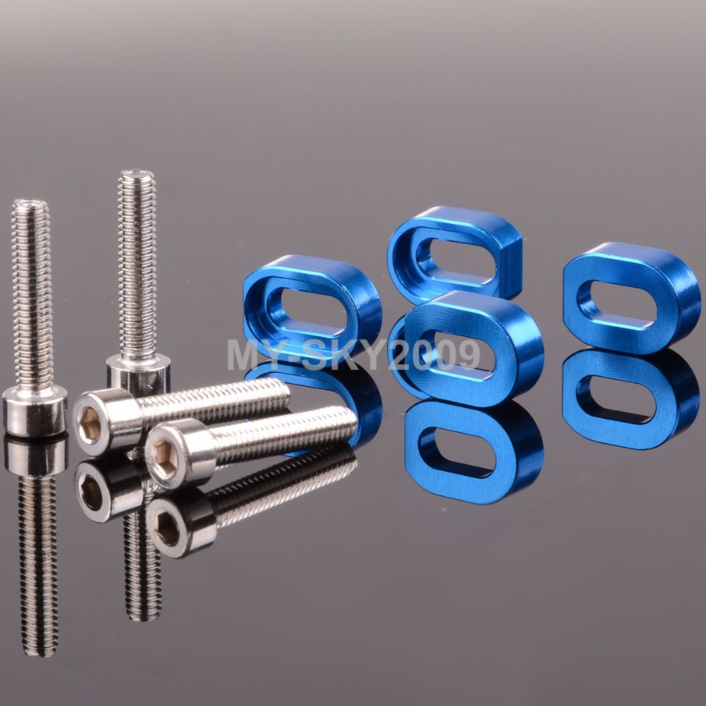 Model# 7759 Aluminum Washers & Stainless Steel Screws For RC Model car 1/5 Traxxas Racing X-Maxx