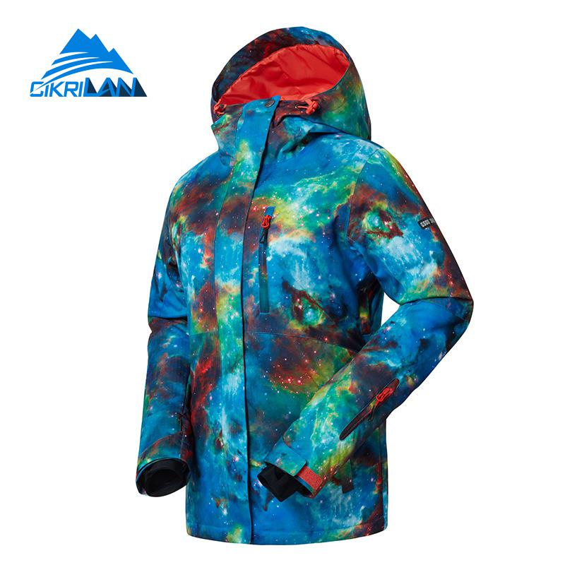 Winter Waterproof Snowboarding Ski Snow Jacket Women Skiing Outdoor Jackets Padded Windstopper Coat Casacos De Inverno Feminino цены онлайн