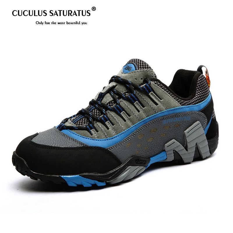 e8175ca7f Для мужчин женская обувь для улицы Пеший Туризм обувь для ходьбы горные  ботинки зимняя теплая обувь