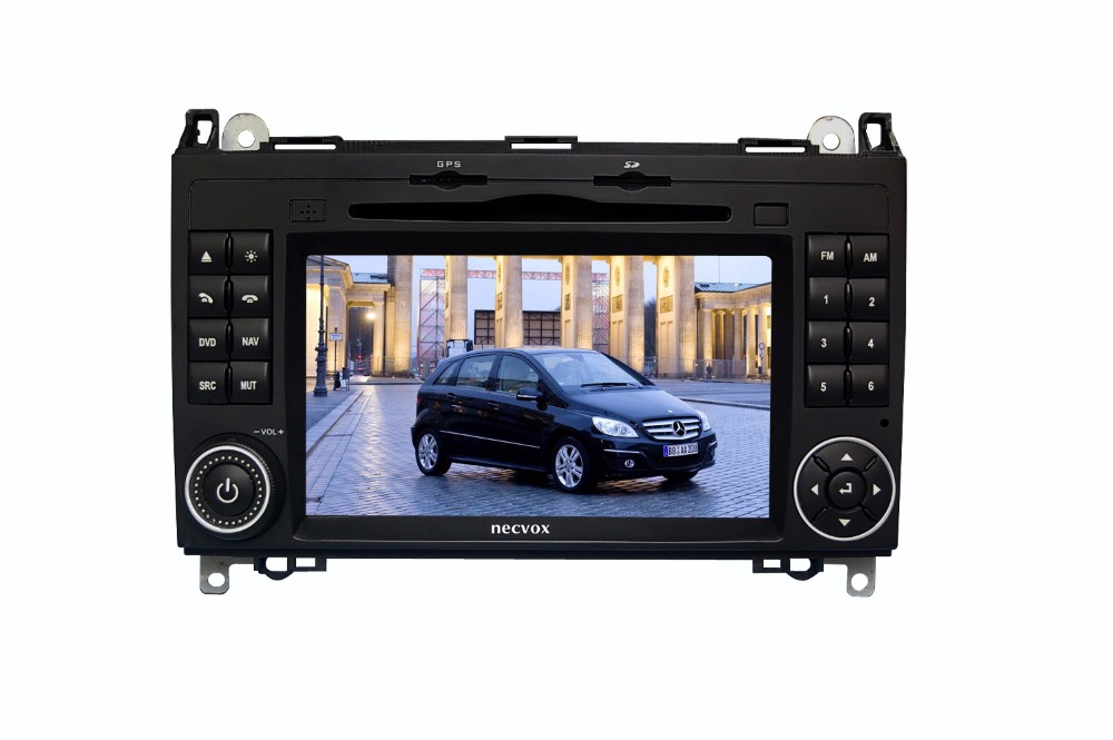 S190 touch screen android 7 1 car dvd player for Benz A B class wifi 3G