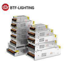 5V 12V 24V Switch LED Power Supply Transformer for WS2812B SK6812 1A 2A 3A 5A 6 5A 8 5A 10A 12 5A 16 5A 20A 25A 30A 40A 50A 60A cheap BTF-LIGHTING CN(Origin) None DC5V 12V 24V ROHS aluminum Lighting Transformers 1 Years AC 110-240V