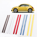 auto car styling Internal decorative door handle decoration License Plates moulding trim Fit for VW beetle