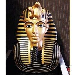 Египетский фараон фигурка тутанхамун статуя украшение для дома полимерное декоративное украшение ручной работы аксессуары египетская Ста...
