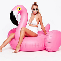 150cm 60 Inch Inflatable Float Swimming Ring Flamingo Swan Donut Mattress Circle Summer Water Fun Para Piscina Pool Sea Floats