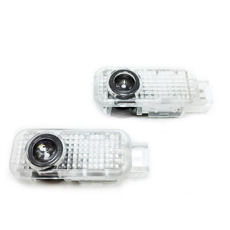 Embleme Willkommen Geisterschatten Logo lampe LED Autotür Logo Laserprojektor Licht FÜR Audi A1 A3 A4 A5 A6 A6L A4L R8 TT Q5 Q7