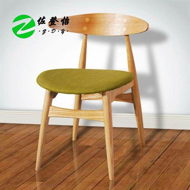 € 948.93  Clásico nórdico silla CH 33 estilo IKEA Nordic madera sillas de  comedor de madera sólida de diseño minimalista moderno en Sillas de Lavado  ...
