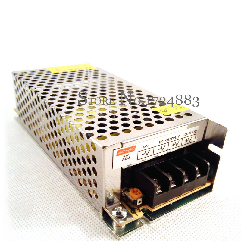 Freeshipping space-saving 12vdc 10a 120 w mini driver de comutação da fonte de alimentação para a câmera do monitor/tira conduzida 142*60*38
