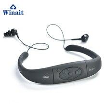 Winait ip68 Waterproof sports mp3, swimming 4GB/8GB underwater mp3 music player free shipping