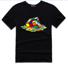 Classic melting Rubik's cube T-shirt