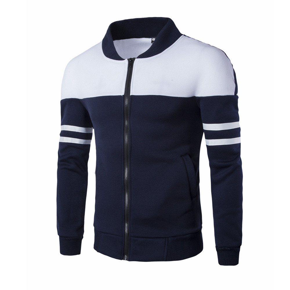 Autumn Winter Leisure Jacket Collar Men Casual Coat jackets men casaco masculino