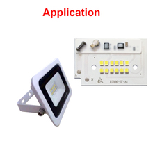 Smart IC no need driver 10W 20W 30W 50W 100W 200W AC220V-240V Input LED SMD CHIP FOR DIY outdoor floodlight цены