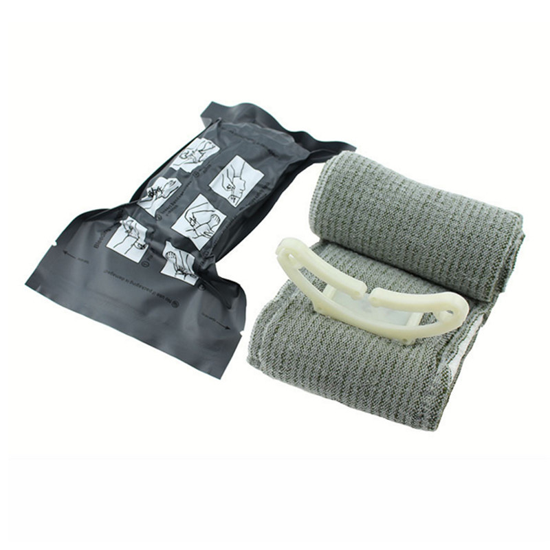 First Aid Hemostasis Emergency Elastic Bandage Sterilization Outdoor Urgent Tactics Rescue Tourniquet Tactical Bandage