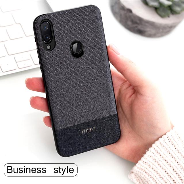 MOFi Redmi Note 7 7 Pro Business Suit Cloth Design Shockproof Back Case Cover