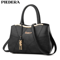 Latest Spring Women BagPU Leather Lady Tote Bag Women Shoulder Bags Brand Female Handbag Embossing Women