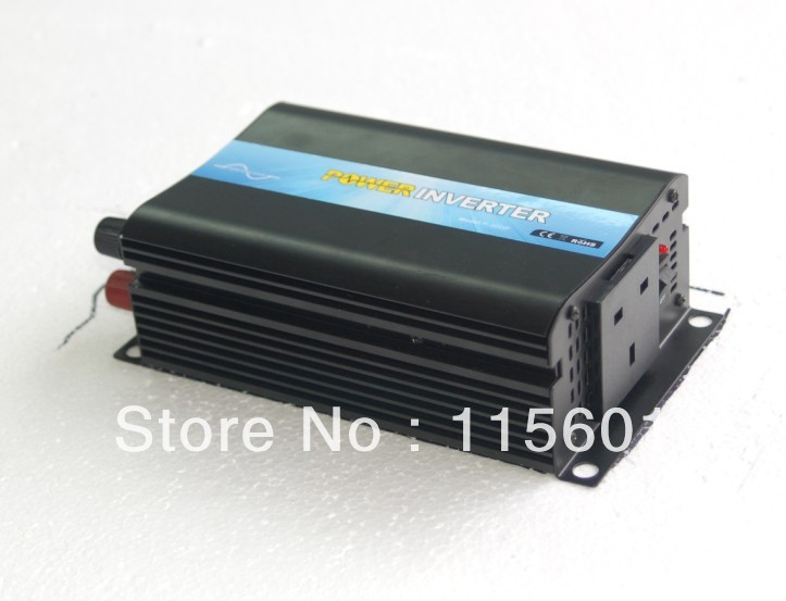 300w 12v to 240v British Sockets Solar Wave Inverter Off-Grid Tie Type, dc ac Inverter 300watts china manufacture sell 300w 12v to 115v car use inverter maili brand one year warranty