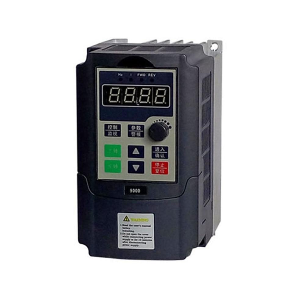 Mini Portable 0.75kw / 1.5kw-G 220V Single Phase Frequency Converter 220V 3 Phases Output Frequency Inverter Built-in User Timer кальсоны user кальсоны