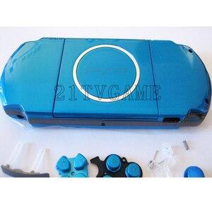 Image 2 - עבור PSP3000 PSP 3000 משחק קונסולת החלפת מלא שיכון מעטפת כיסוי מקרה עם כפתורי ערכה