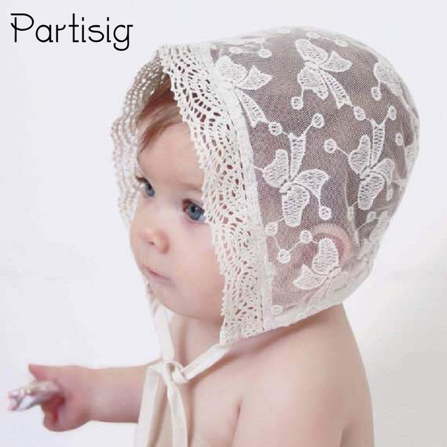 Baby Lace Princess Hat Newborn Photography Props Infant Girl White Lace Sun  Hat Cap b48449b6233