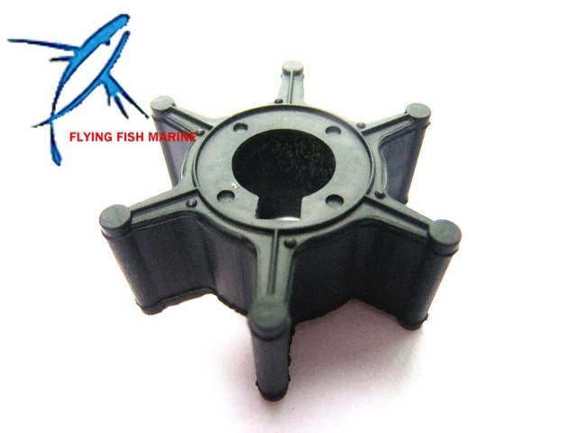 6L5-44352-00 Boat Engine Impeller for Yamaha 4-Stroke 2.5HP F2.5 Outboard Motor Water Pump,Hidea Outboard Impeller