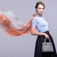 Cashmere Scarf Women Soft Warm Natural Fabric Fashion Orange Big Plaid scarves Winter Shawl High Quality Free Shipping