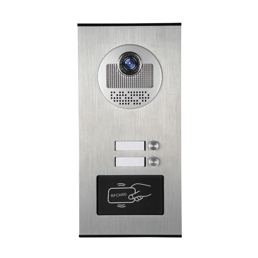Two Key Intercom Door Camera For 1V2 Wired Video Door PhoneTwo Key Intercom Door Camera For 1V2 Wired Video Door Phone