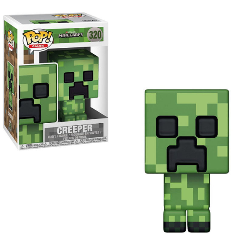 FUNKO-POP-Minecrafted-CREEPER-STEVE-STEVE-IN-DIAMOND-ARMOR-PVC-Action-Figure-Collectible-Model-gift-for