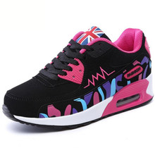 LAIDILANGTU Spring new fashion women's shoes cushion sneakers casual students single shoes breathable travel flat shoes areqw spring within the increase women s shoes fashion shoes wild students single shoes color travel racing shoes women