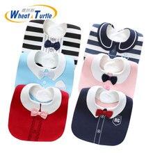 Cute Newborn Baby Bibs Burp Cloths 100% Cotton Infant Girl Boy Babador Bebes Cartoon Animal Pattern Saliva Towel