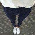 Мода Эластичный Деним Женщины Узкие Джинсы Карандаш Брюки Плюс Размер Pantalon Femme Тонкий Капри Леггинсы Женские Длинные Брюки