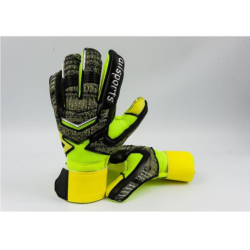 New Design Professional Soccer Goalkeeper Glvoes Latex Finger Protection Children Adults Football Goalie Gloves 10