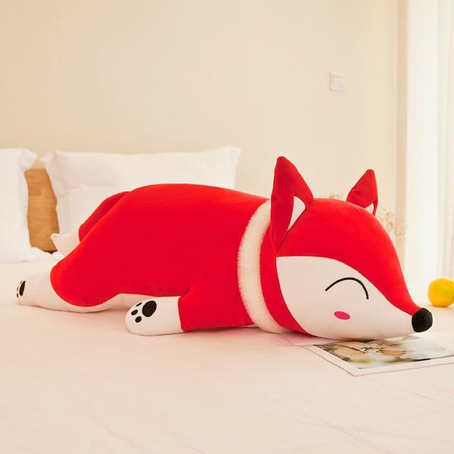 35-90cm Kawaii Doll Stuffed Animals & Plush Toy for Girl Children Boys Toys Plush Pillow Fox Stuffed forest Animal Soft Toy Doll