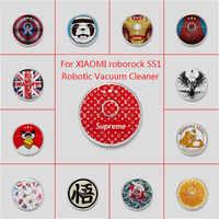 Aceptar Etiqueta De piel personalizada envoltura de vinilo para Xiaomi Robot limpiador roborock S50 S51 pegatina robótica Slap película protectora envío gratis