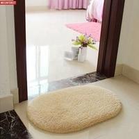 Missinterest Design Hot Sale New 360 Rotatable Of Super Magic Slip Resistant Pad Room Oval Carpet