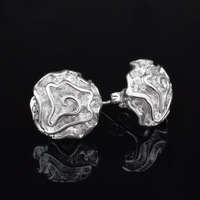 925 Sterling Silver Stud Earrings Brincos para as mulheres s for women bijoux wholesale silver earring Jewelry