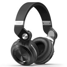 元のトーク業 Bluedio T2 プラスワイヤレス Bluetooth 5.0 ステレオヘッドフォン sd カード & FM ラジオヘッドセットとマイクの高低音音アプリ