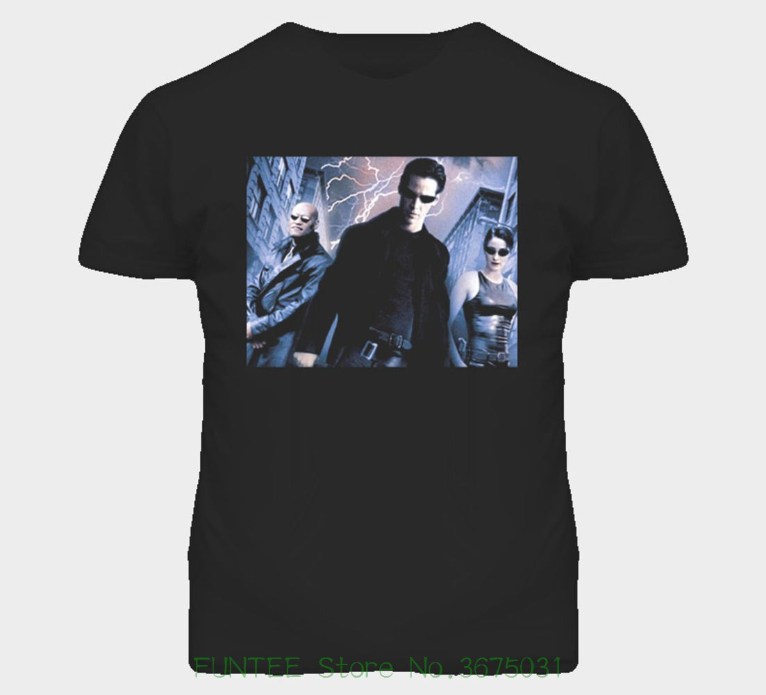 Tee Shirt Hipster Harajuku Brand Clothing T-shirt The Matrix Movie T Shirt